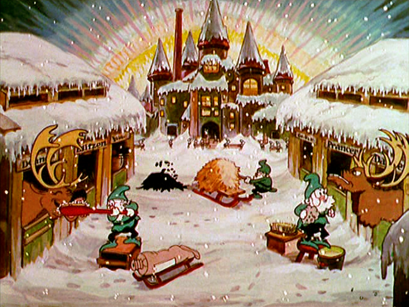 Babbo Natale Disney.Santa S Workshop The Disney Compendium