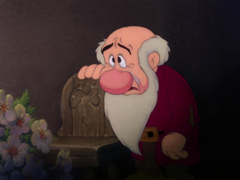 L fotobusta biancaneve e i sette nani walt disney animazione